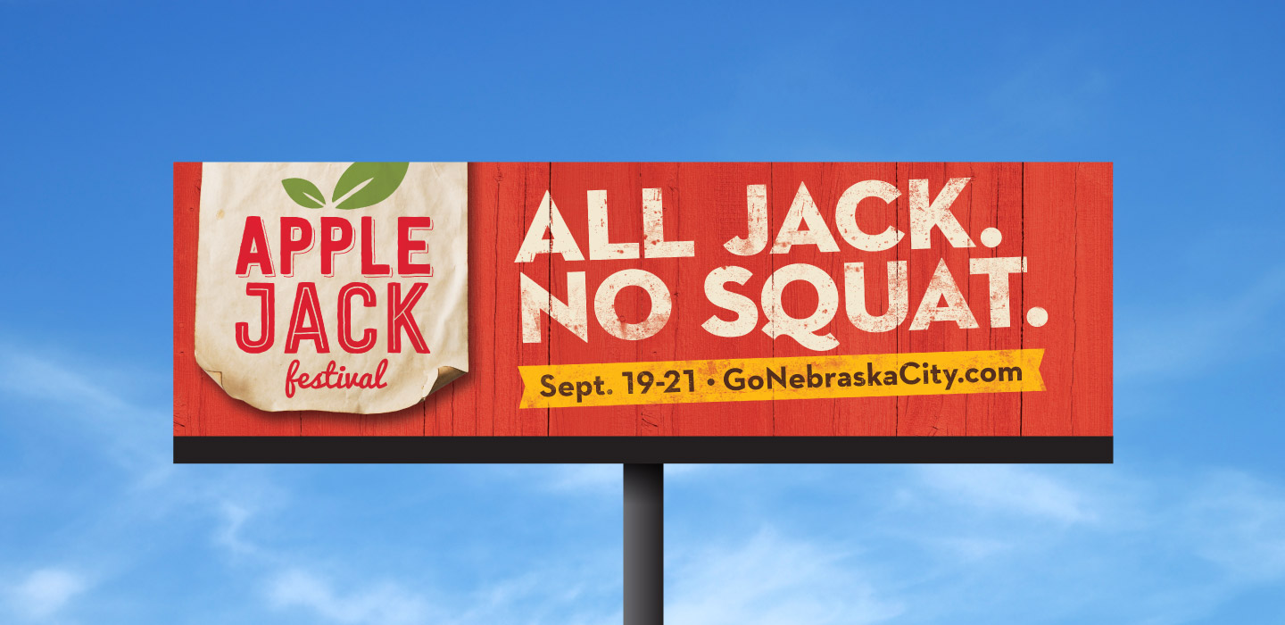 An example of a Nebraska City Billboard