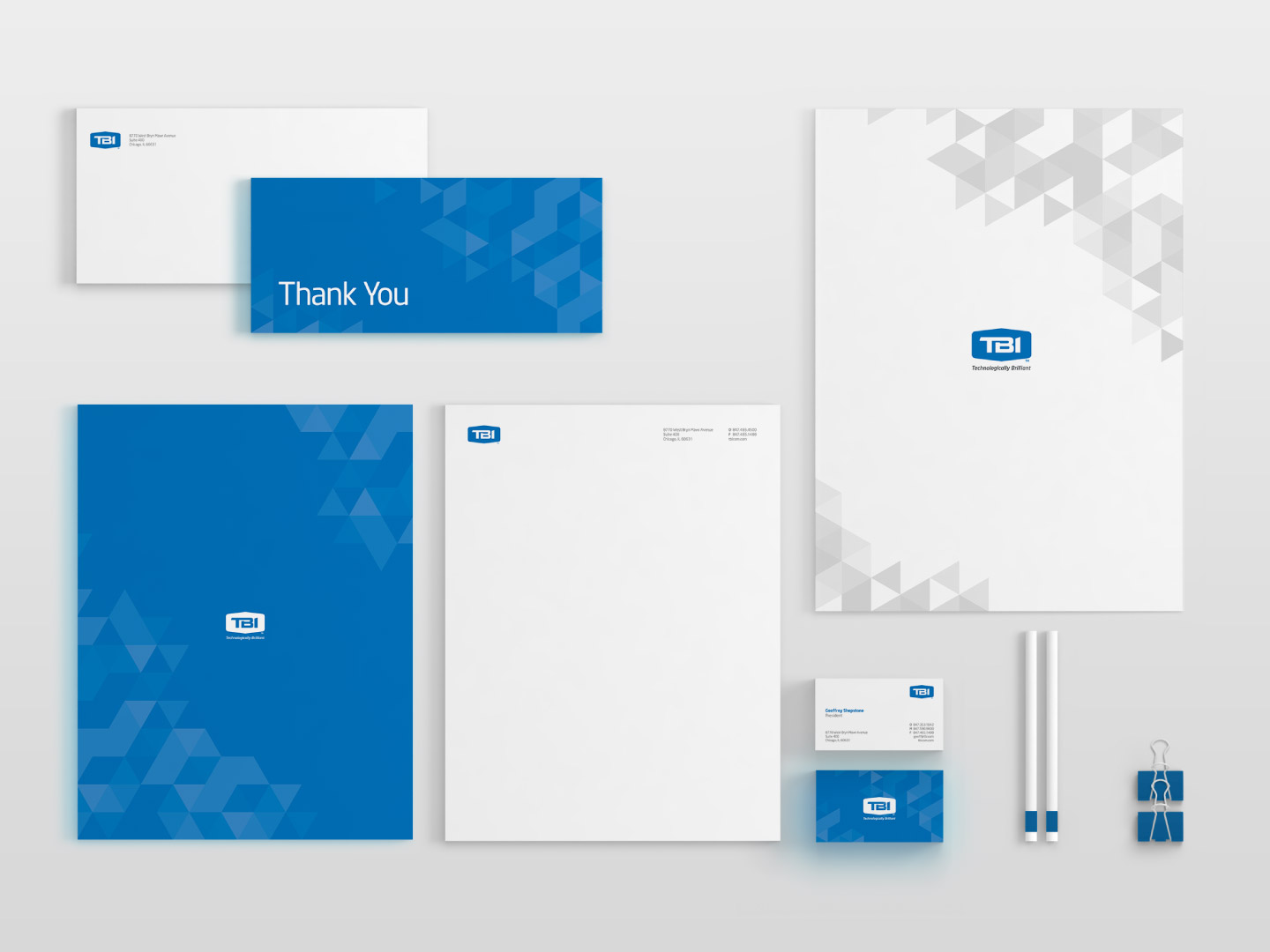 TBI corporate stationary