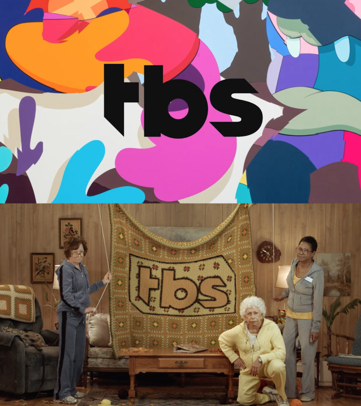 TBS Logo in different applications
