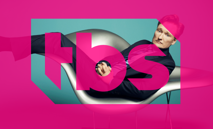 TBS Logo imposed on top of Conan O'Brien image
