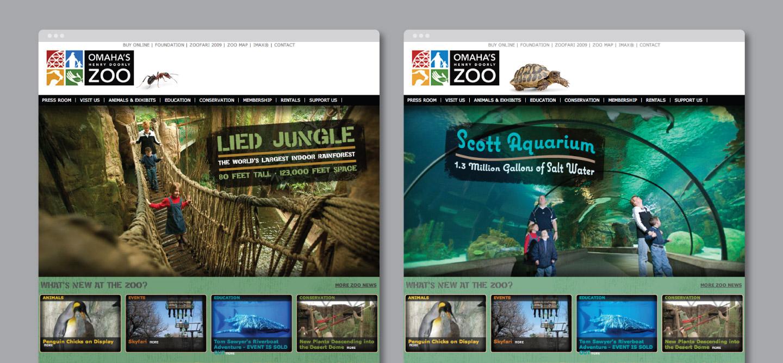 Omaha's Henry Doorly Zoo Website