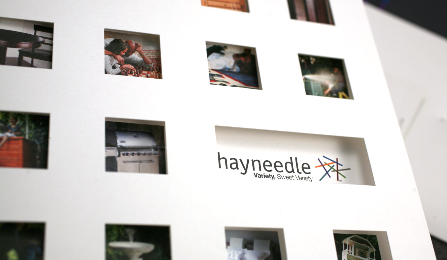 Brand launch kit for Hayneedle