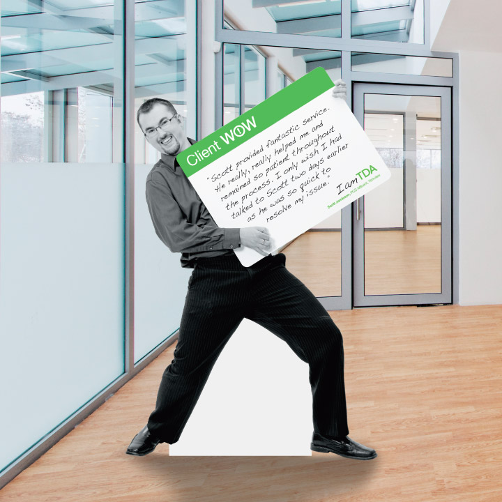 Interior signage for TD Ameritrade