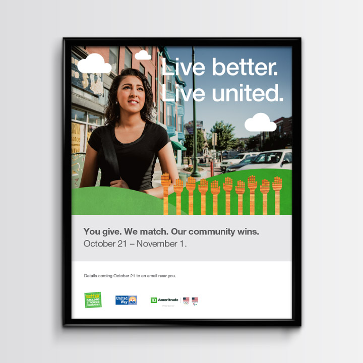 Screen grab of the TD Ameritrade mini site