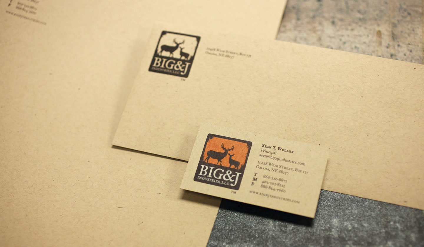 Big and J Industries stationery