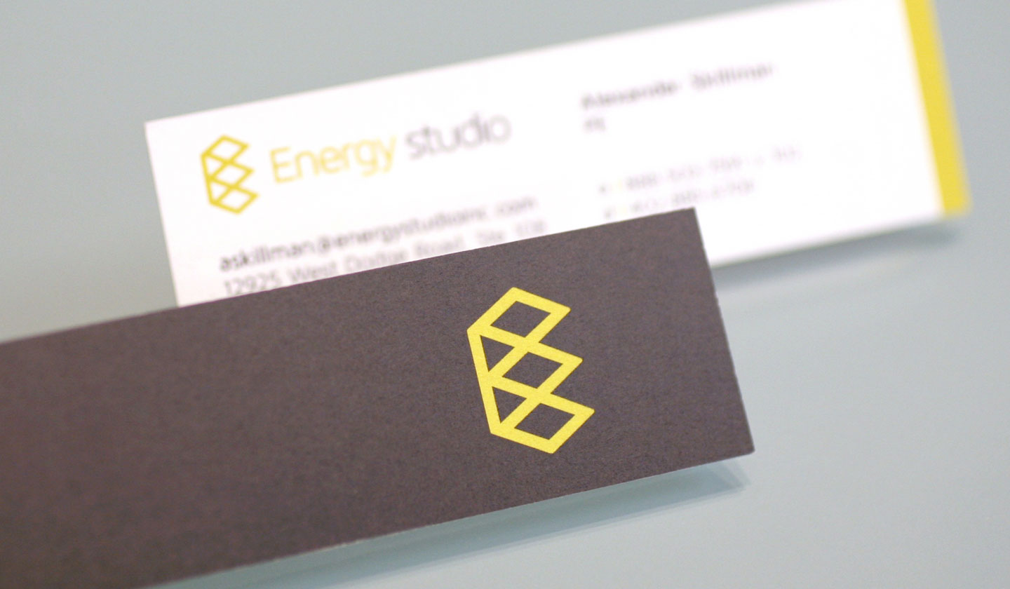Energy Studio Business Cards