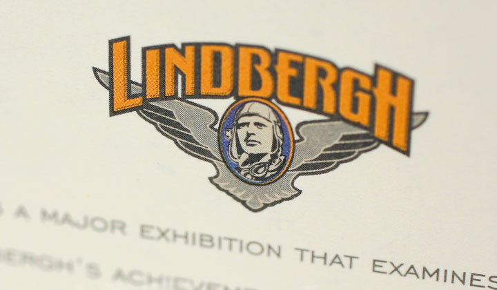 Strategic Air and Space Museum lindberg invite detail 2