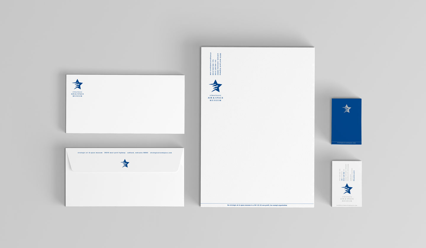 Strategic Air and Space Museum stationery