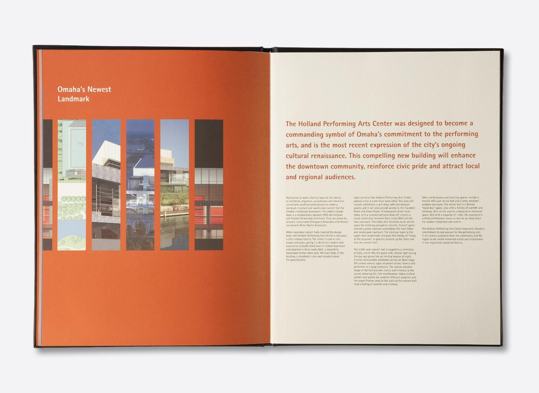 ... Holland Performing Arts Commemorative Book ...
