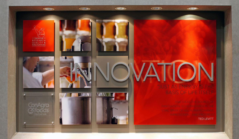 ConAgra Foods RQI wall graphics