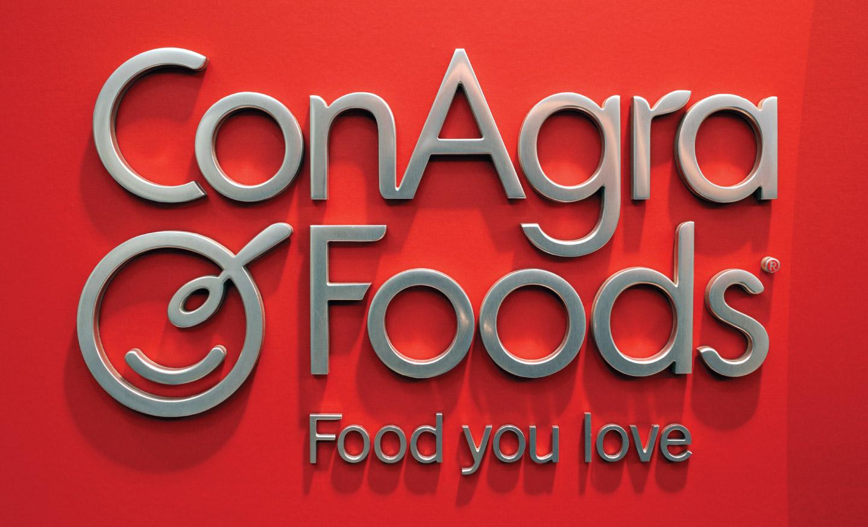 Indoor signage for ConAgra Foods