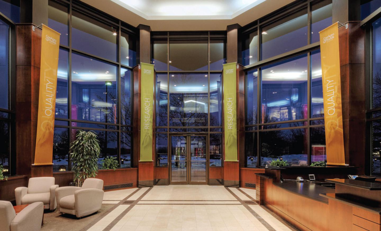 Internal corporate design and signage for ConAgra headquarters