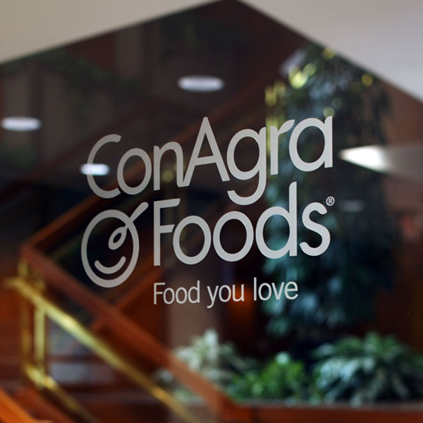 ConAgra Foods Window Logo Decal