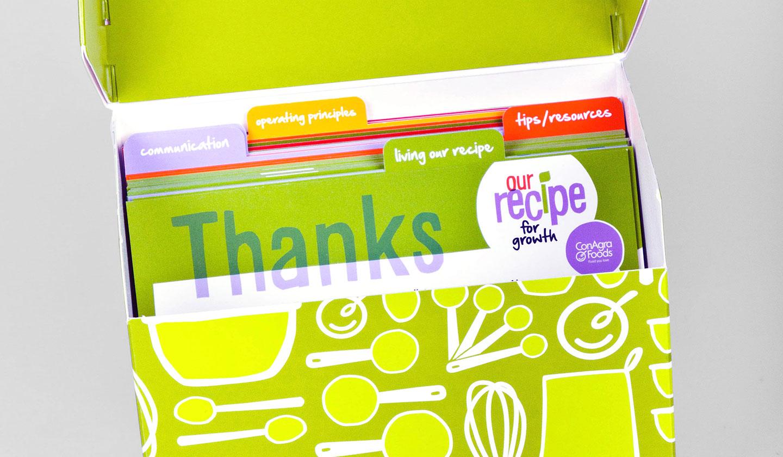 ConAgra Foods Recipe Recipe Box