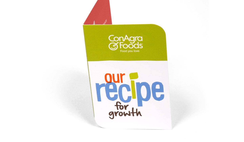 ConAgra Foods Recipe Employee Card