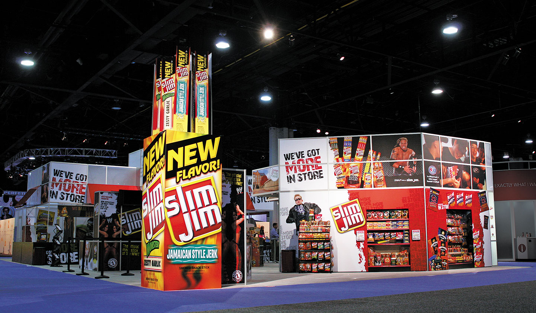 Booth designed for a ConAgra Foods Tradeshow