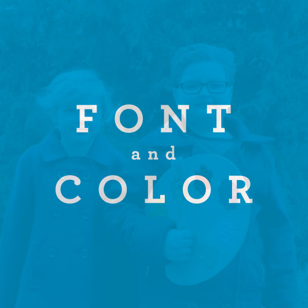 Font and Color