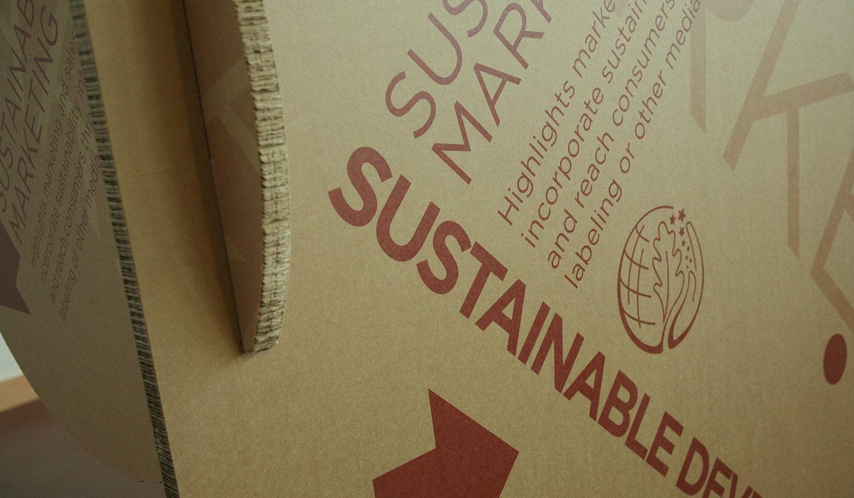 ConAgra Foods Sustainable Development Display Type