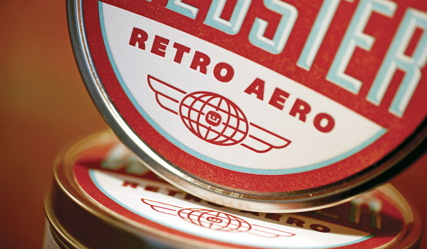 Webster Retro Aero close-up