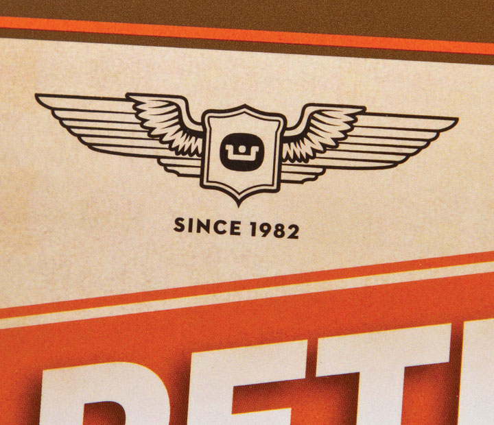 Webster Retro Moto wings