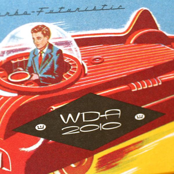 webster retro roadster detail