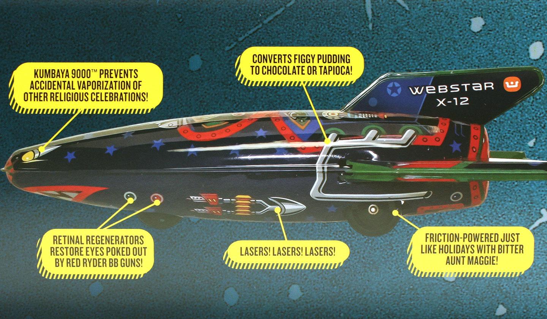Webster Retro Rocket details