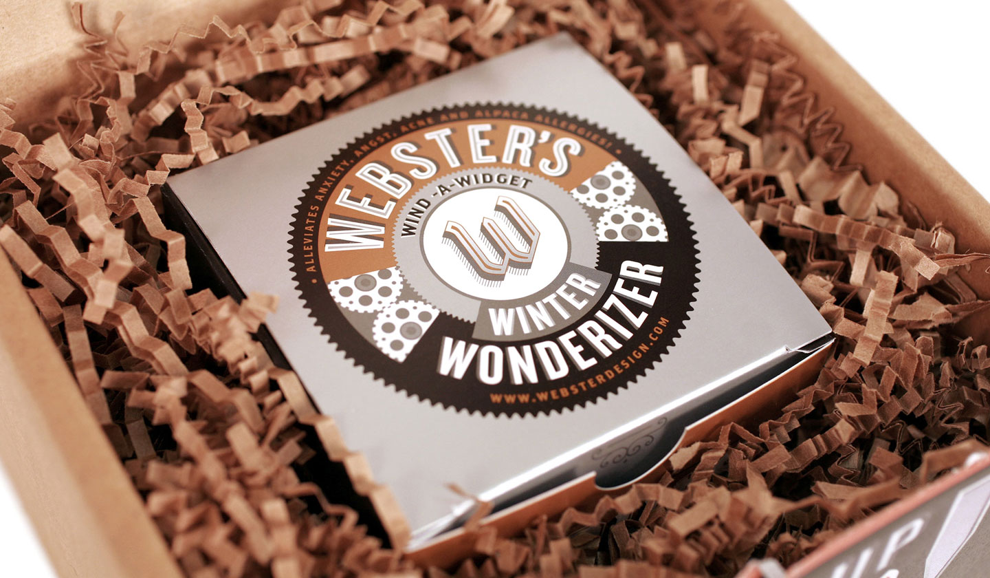 Webster's Winter Wonderer in packaging