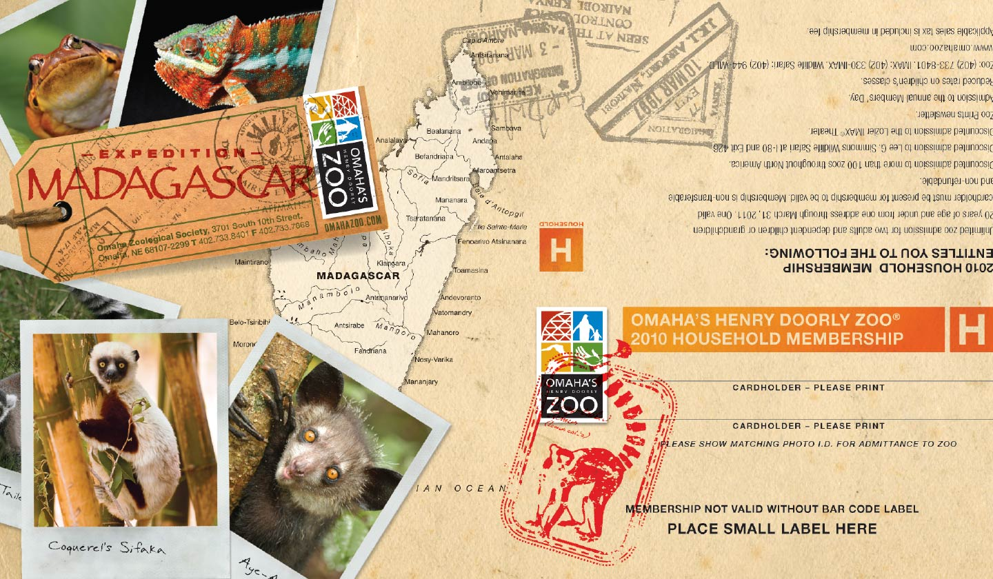 Omahau0027s Henry Doorly Zoo Madagascar Membership Card  sc 1 st  Webster & Omahau0027s Henry Doorly Zoo u2013 Memberships - Webster
