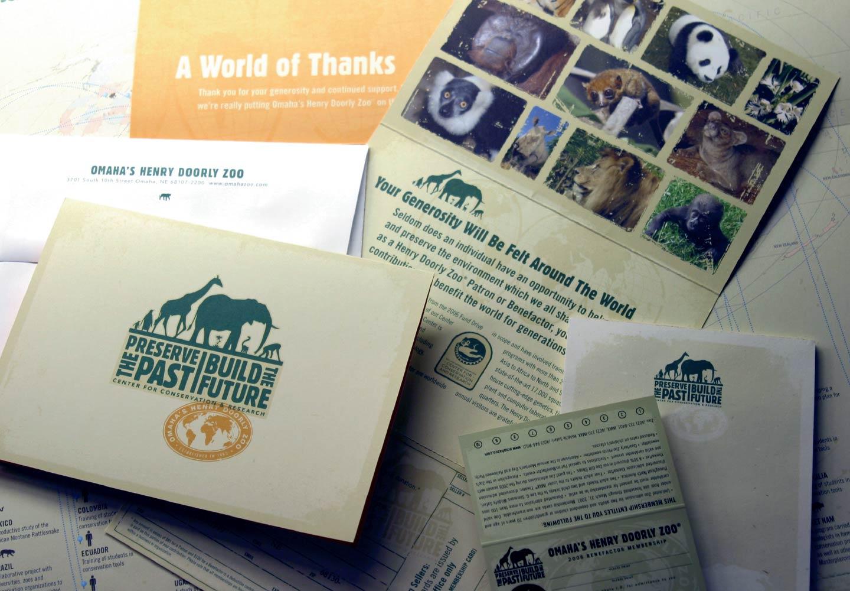 Omaha's Henry Doorly Zoo Conservation materials