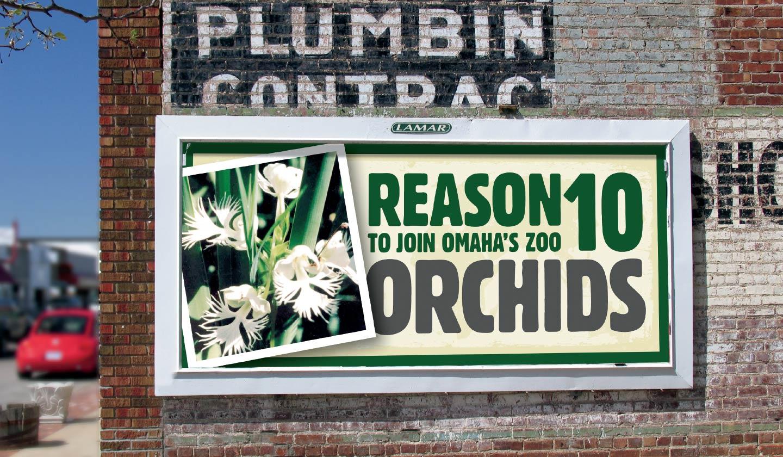 Omaha's Henry Doorly Zoo Conservation billboard