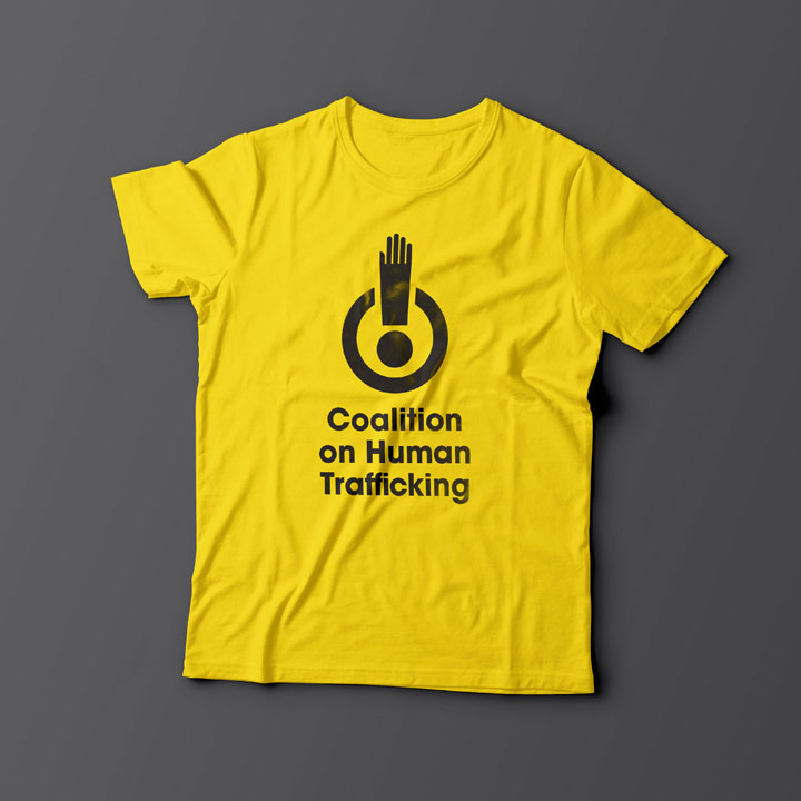 Coalition on Human Trafficking T-shirt