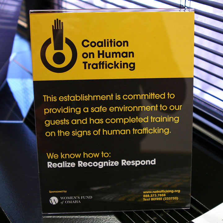 Coalition on Human Trafficking Plaque