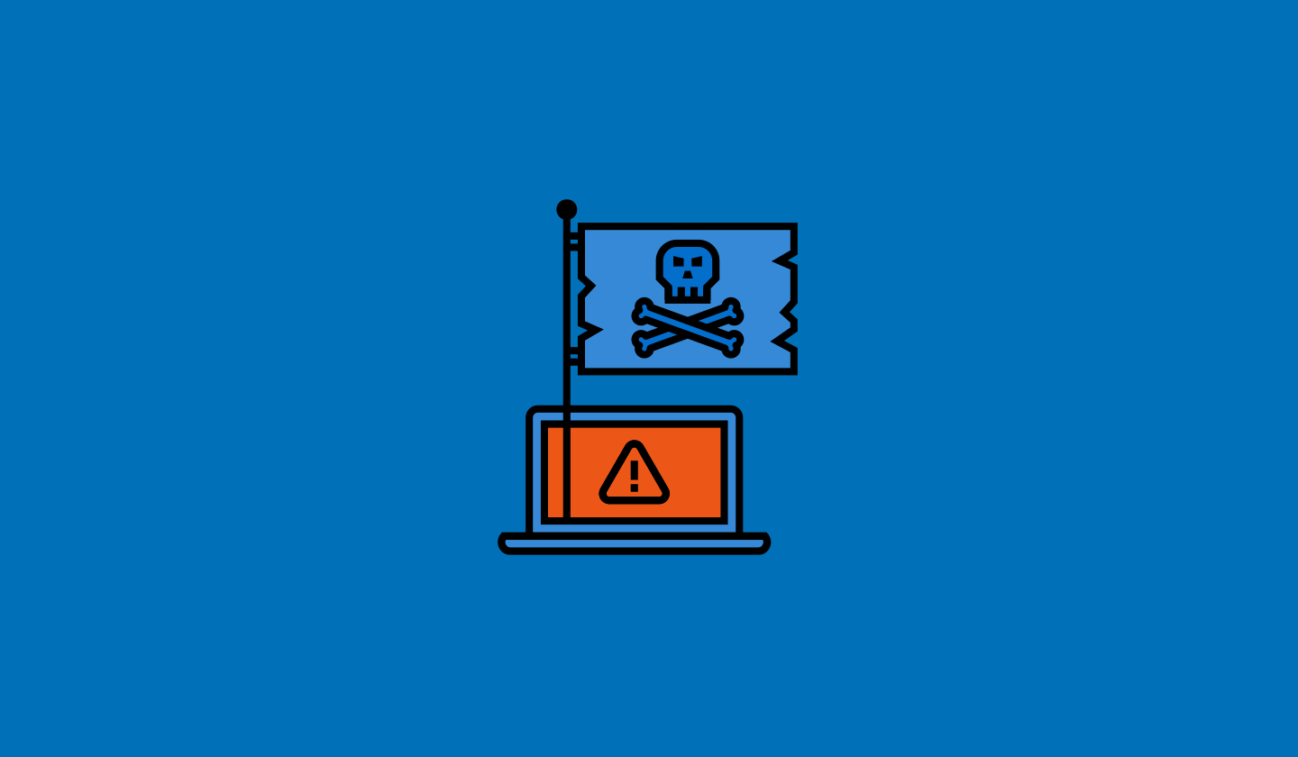 NTT Group Security Pirate Flag