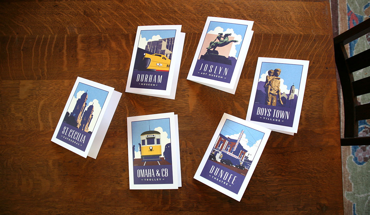 Webster Omaha Greetings Cards