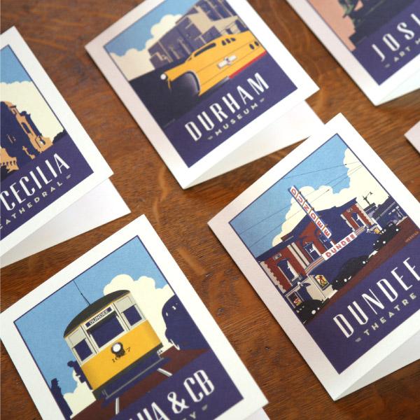 Webster Omaha Greetings Card Set