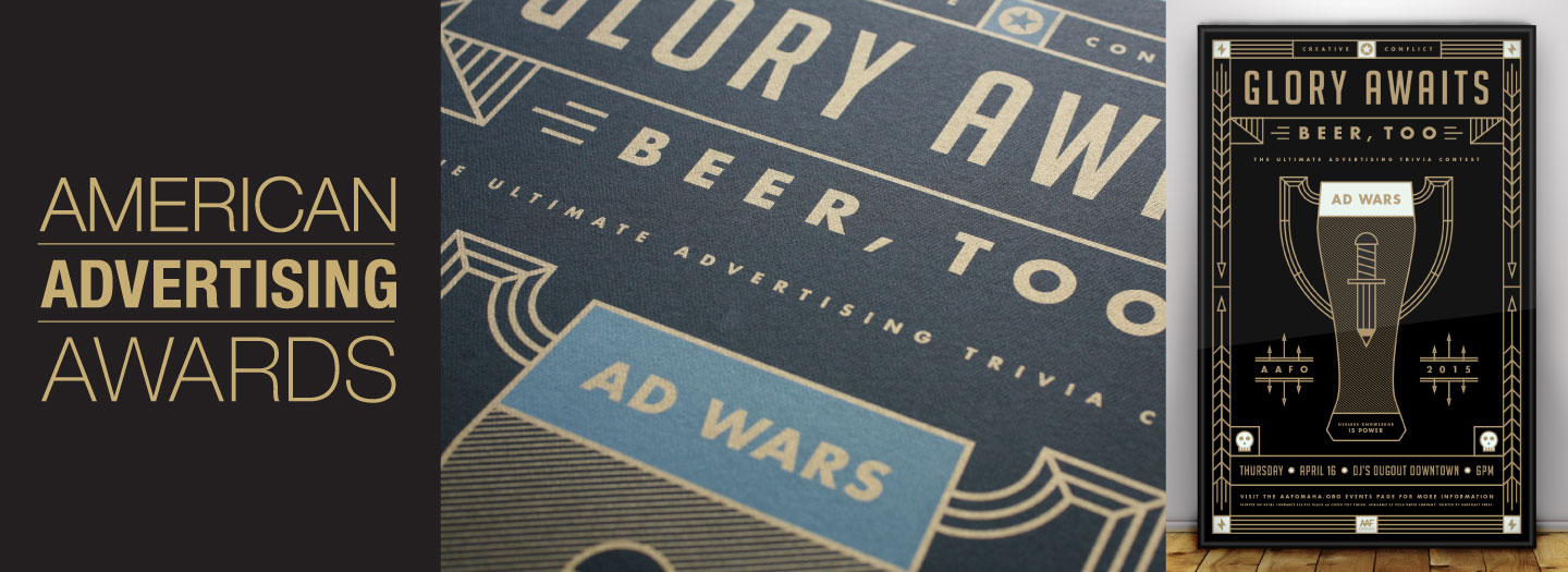 National Addys - Ad Wars Poster