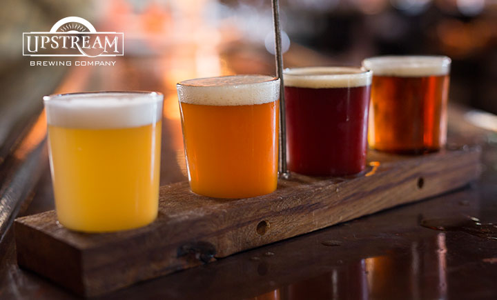 Upstream Brewing Company Beer Samples
