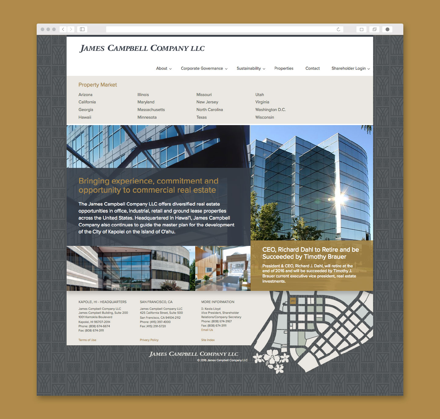 James Campbell Homepage