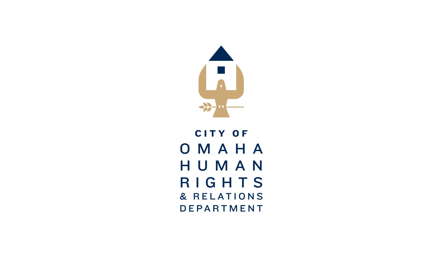 City of Omaha Human Rights and Relations Dept. Logo