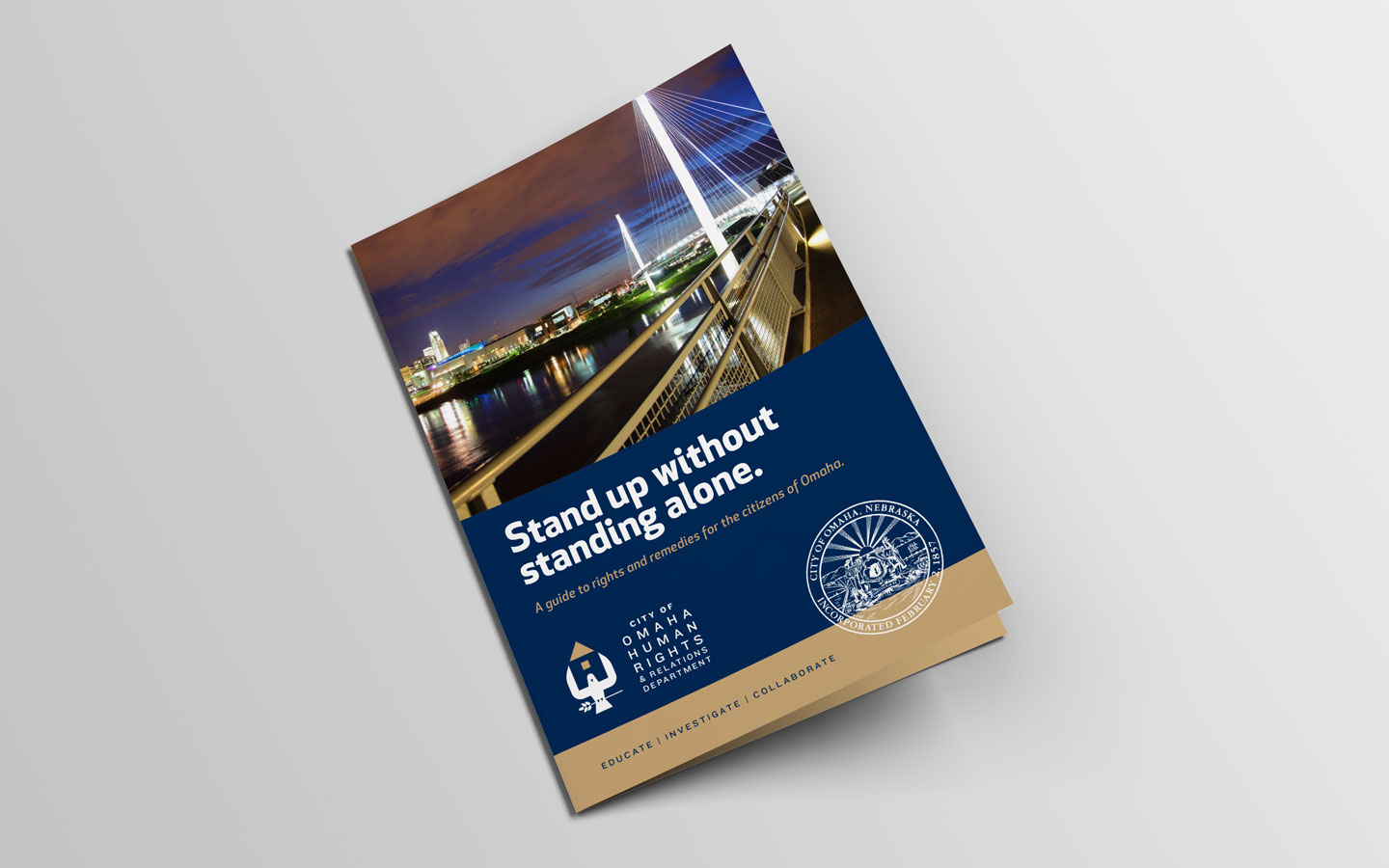 City of Omaha Human Rights and Relations Dept. Master Brochure