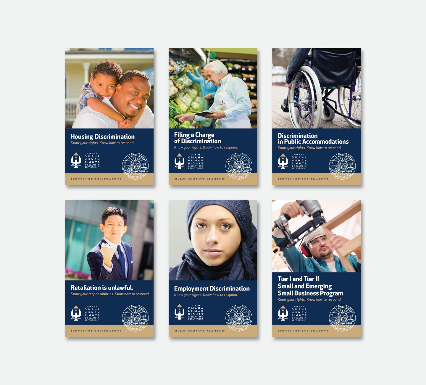City of Omaha Human Rights and Relations Dept. Brochures