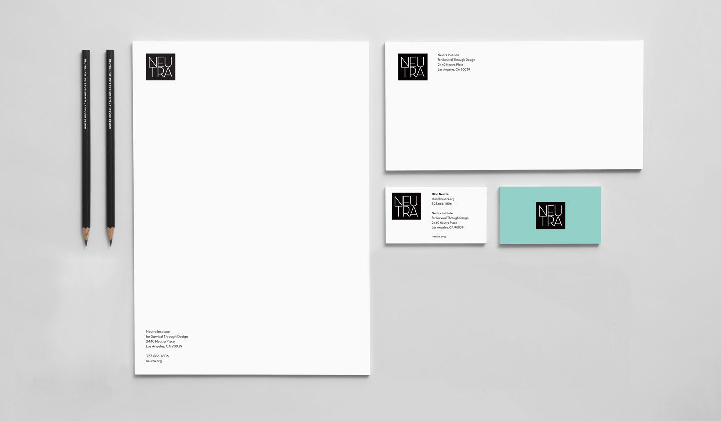 Neutra Stationery