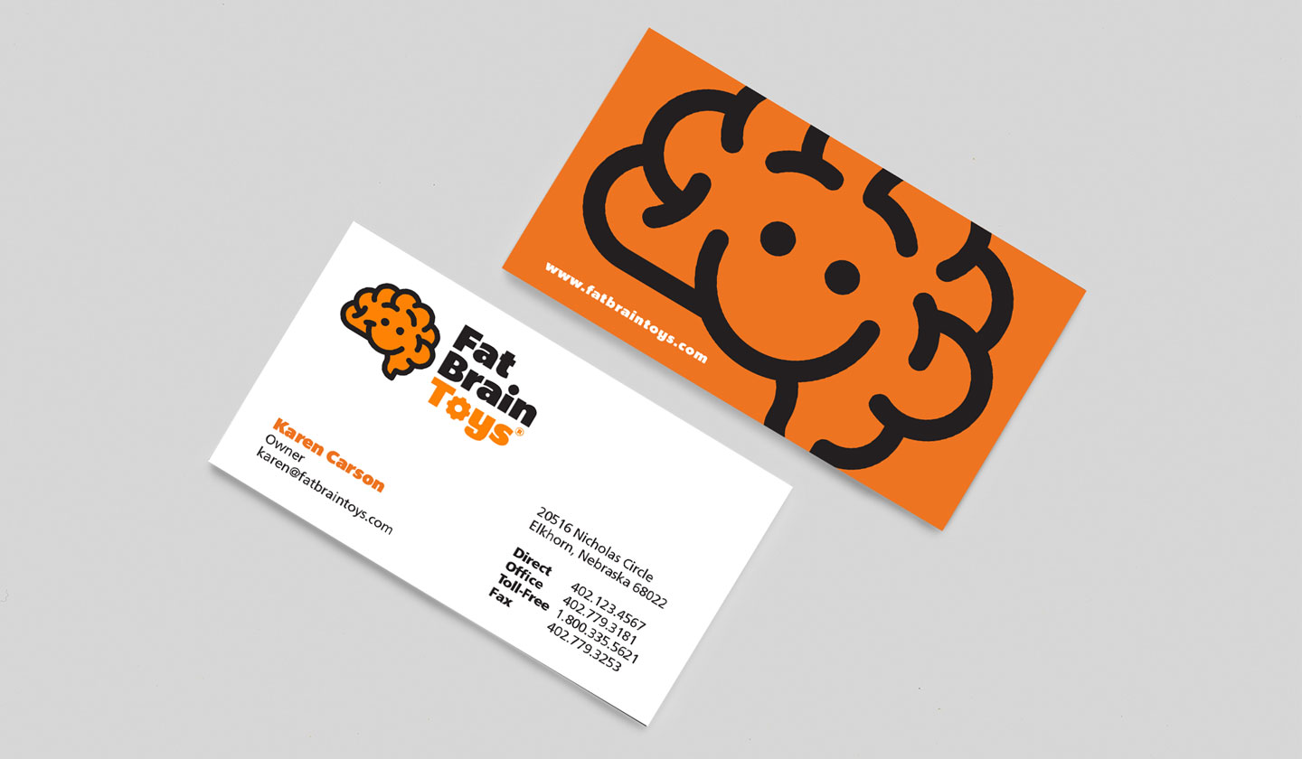 Fat Brain Toys Business Cards