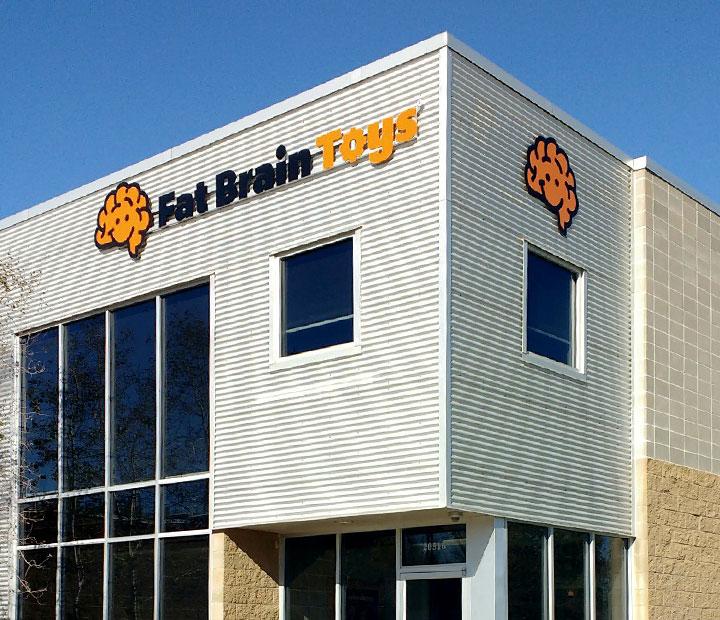 Fat Brain Toys Corporate Entrance