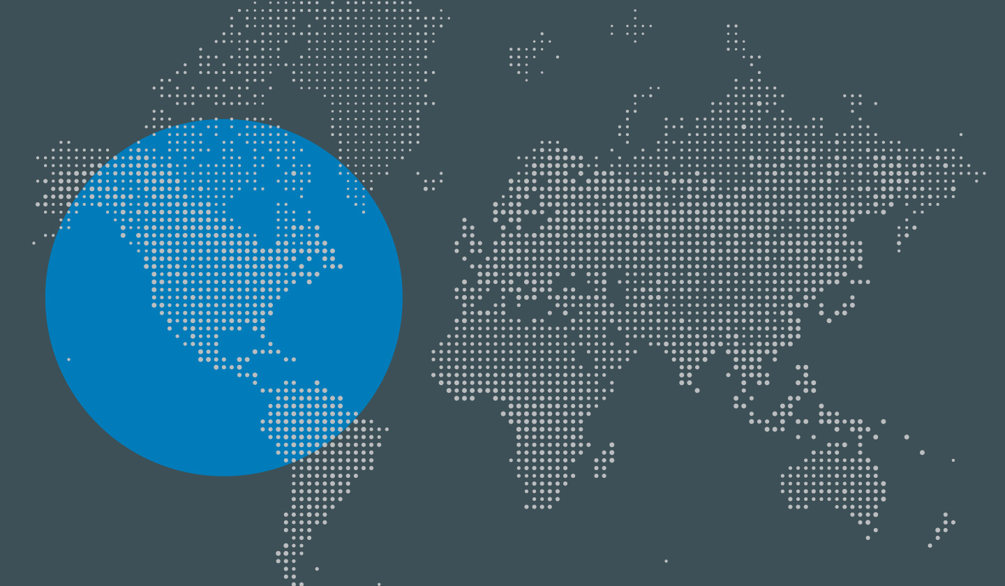 NTT Security Global Threat Intelligence Report Map