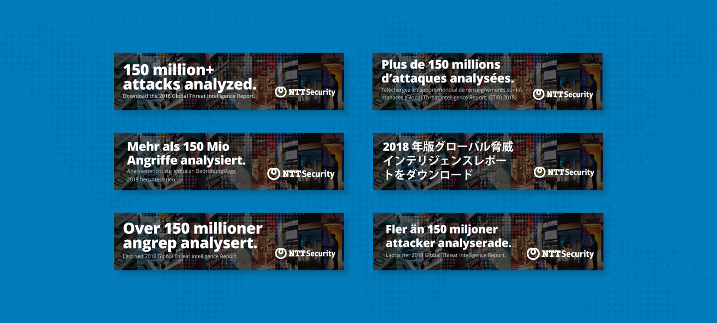 NTT Security Global Threat Intelligence Social Media Languages